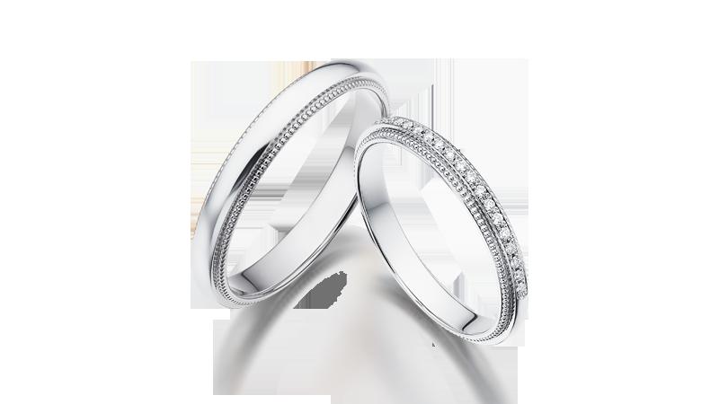 結婚對戒 HELIOS 18LD